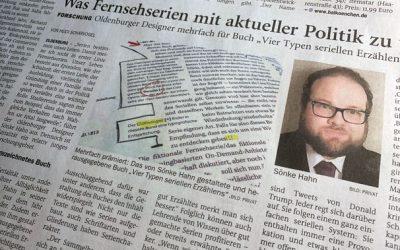 Serialität und Buch in Nordwest-Zeitung Oldenburg